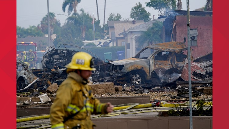 At least 2 dead after plane departing from Yuma crashes near San Diego