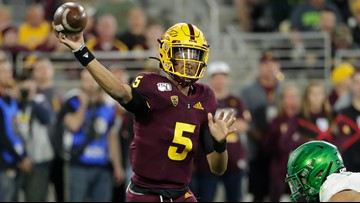 Jayden Daniels, Arizona State upset No. 6 Oregon 31-2