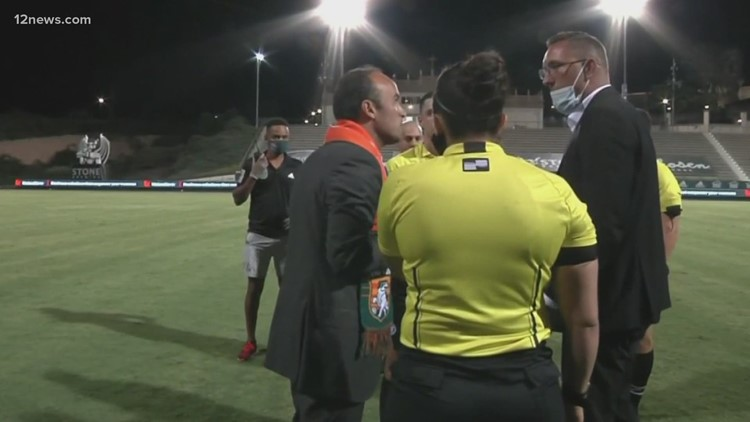 Two investigations are ongoing into the events of Wednesday's Phoenix Rising game