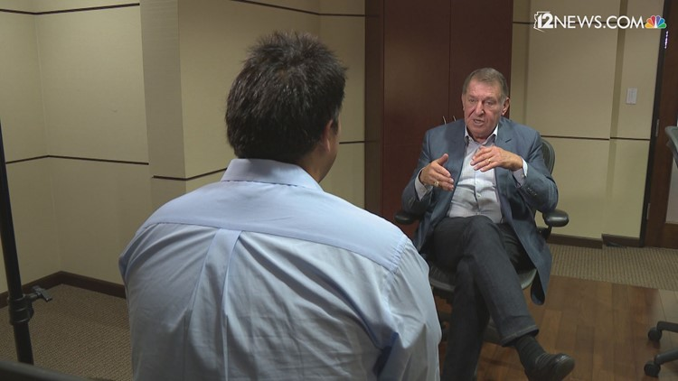 Jerry Colangelo talks role in Suns Monty Williams hire, Robert Sarver