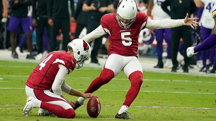 Cardinals' Prater boots 62-yard field goal against Vikings
