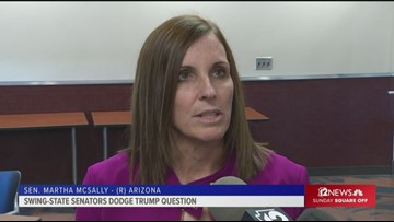 McSally's dodging Trump questions. What does that tell voters?