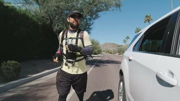 Phoenix man runs 16 marathons in 16 days for the second time