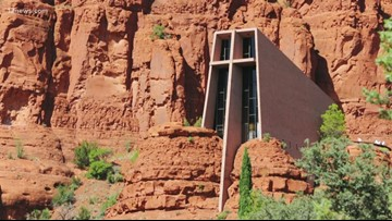 Chapel of the Holy Cross in Sedona almost fully restored after vandal attack