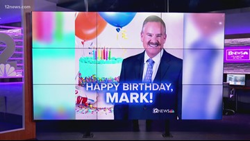 His age may be unknown, but 12 News wishes Mark Curtis a happy birthday!