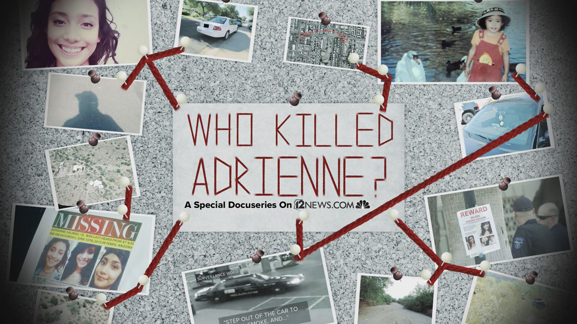 Adrienne Salinas's phone might provide clues about her murder, but it's missing