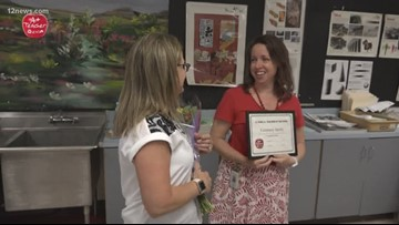 A+ Teacher of the Week: Courtney Darby in Tempe