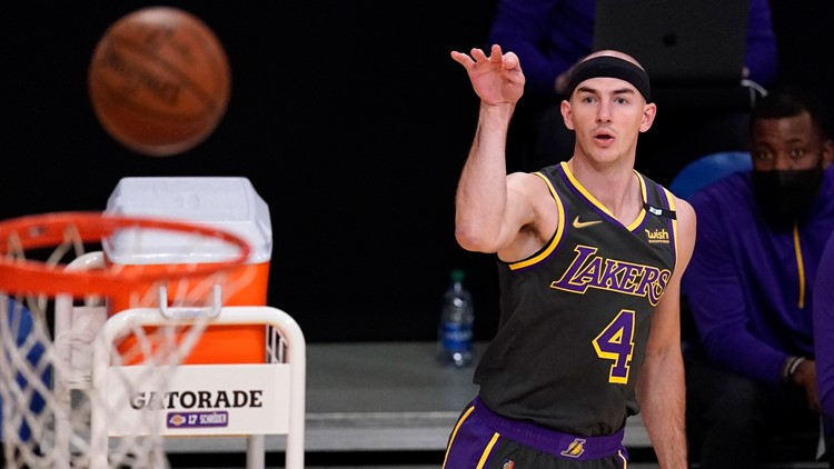 Lakers guard Alex Caruso arrested on drug charges
