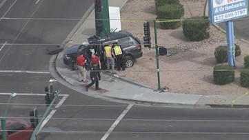 Man killed, impairment suspected in Phoenix crash