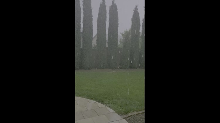Prescott Valley monsoon with thunder