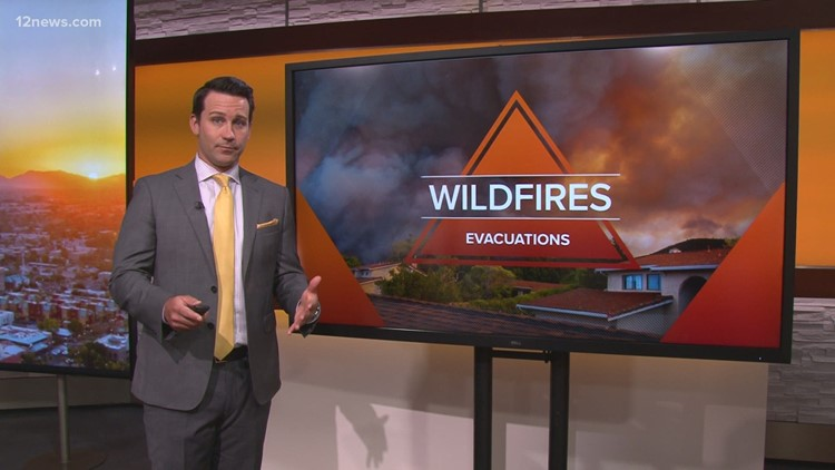 How to prepare ahead of wildfire evacuations