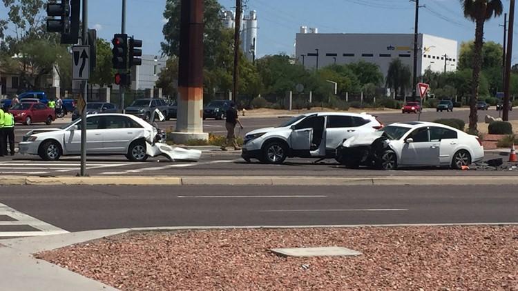 US 60 and 63rd crash