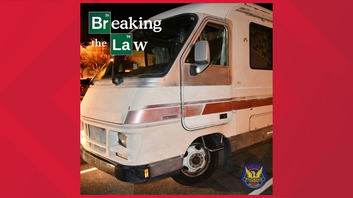 'Breaking Bad' style mobile meth lab found in Phoenix