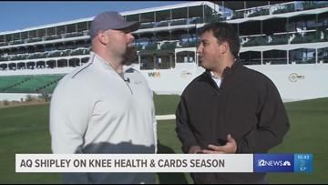12 Sports Golf Show: A.Q. Shipley on his knee health, Cards season