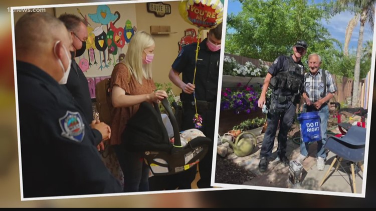 Community returns favor to Mesa cop who went above and beyond