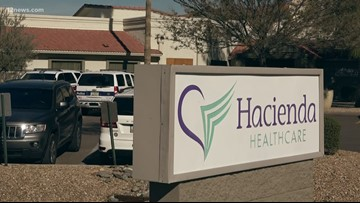 911 call released in Hacienda Healthcare case