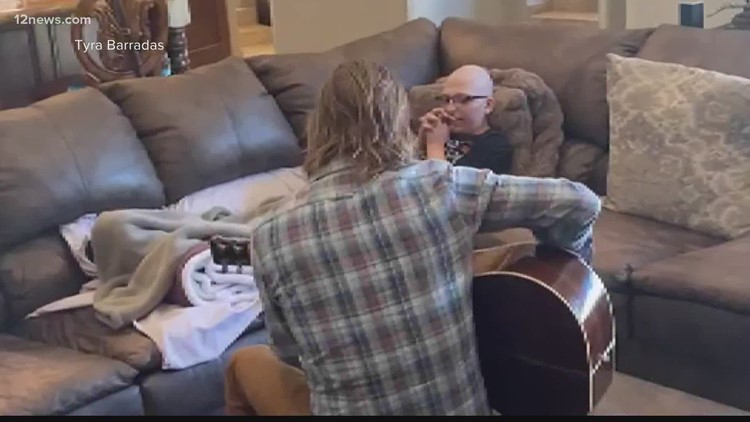 Dierks Bentley spends final days with Valley woman battling cancer