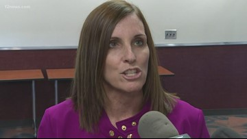 McSally sidesteps questions about Trump's Ukraine call