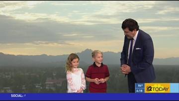 12 Today Weather Kids: Cash & Mya