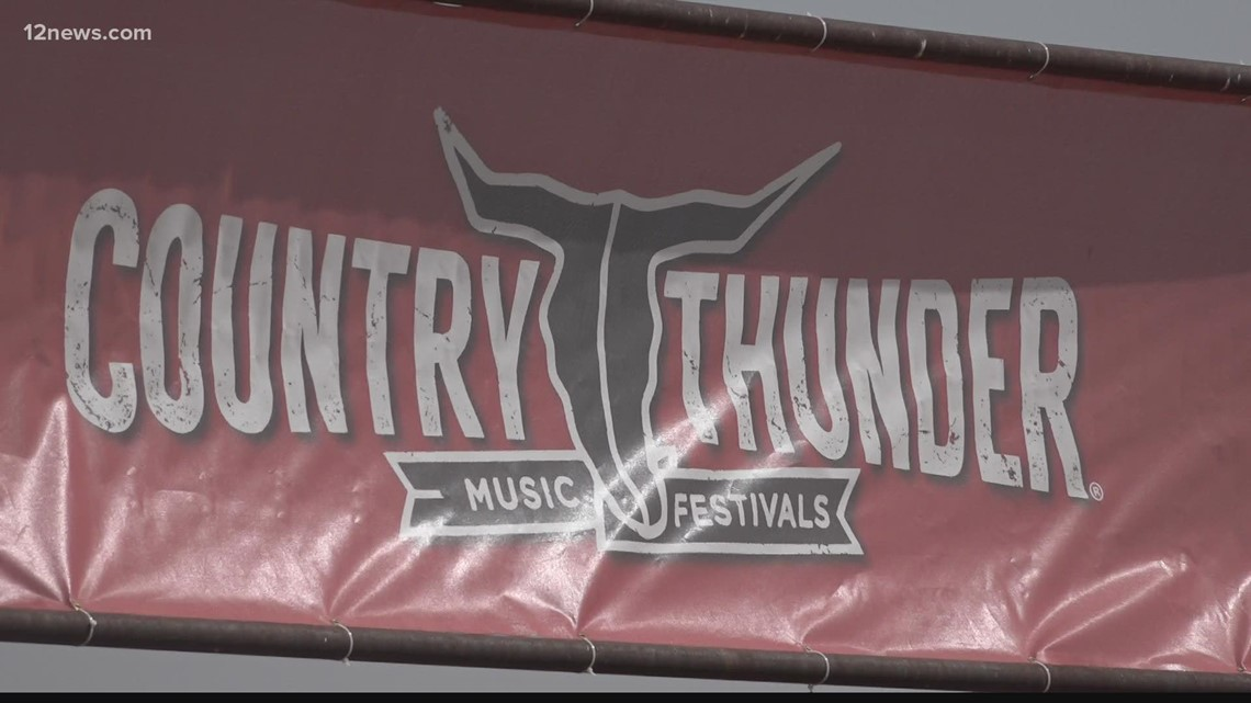 Country Thunder returning to Arizona for the first time since the pandemic with COVID protocols