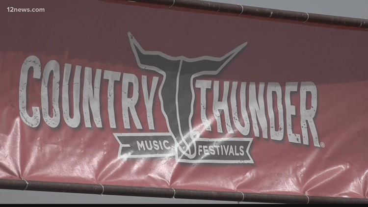 Country Thunder returns to Arizona for the first time since the beginning of the pandemic