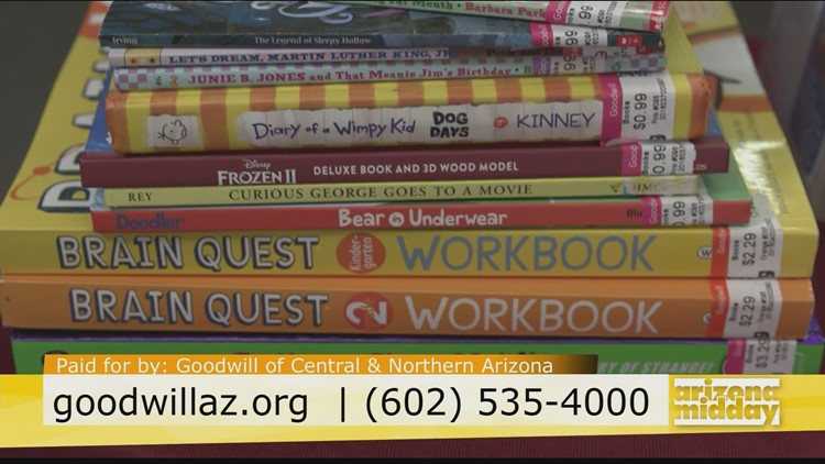 Back to School with Goodwill of Central & Northern Arizona