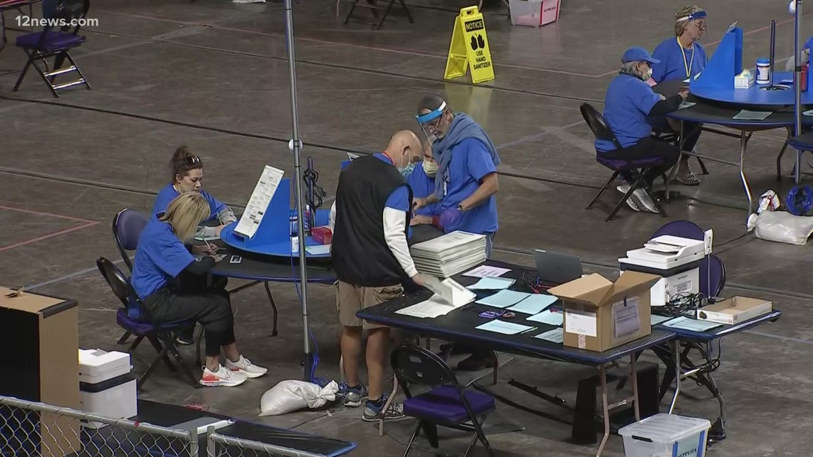 Auditors have counted a fraction of Maricopa County's 2.1 million ballots with 15 days left
