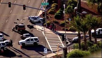 Multiple children seriously injured in Glendale crash