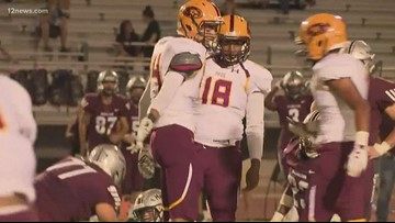 Mountain Pointe plays first football game since betrayal scandal