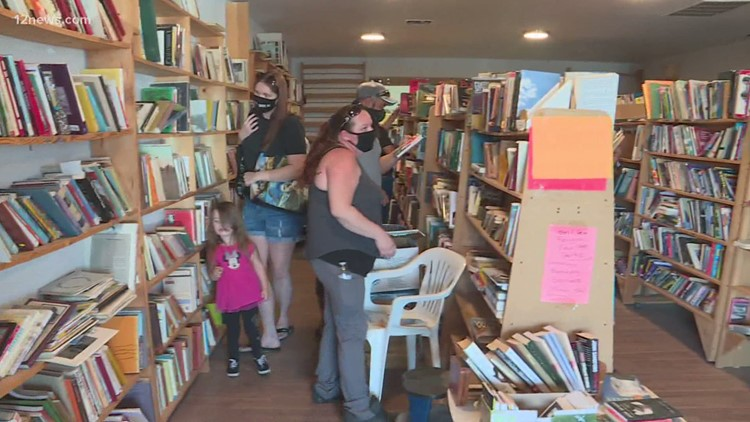 COVID-19 pandemic forces Apache Junction bookstore to close before grand opening