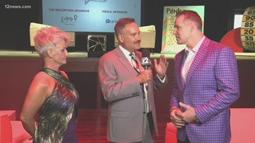 Kurt and Brenda Warner host Celebrity Game Night with special guest Larry Fitzgerald