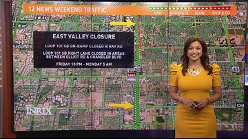 Weekend traffic outlook for Aug. 16- Aug. 19