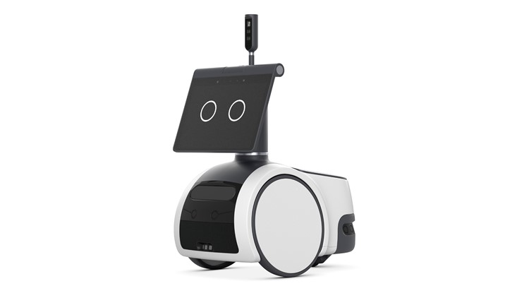 Amazon unveils 'Jetsons'-like roaming robot for the home
