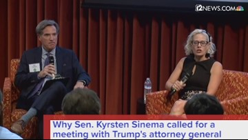 Sen. Kyrsten Sinema's got some questions for Trump's AG