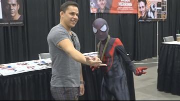 Superheroes surprise 13-year-old cancer survivor at Phoenix Fan Fusion