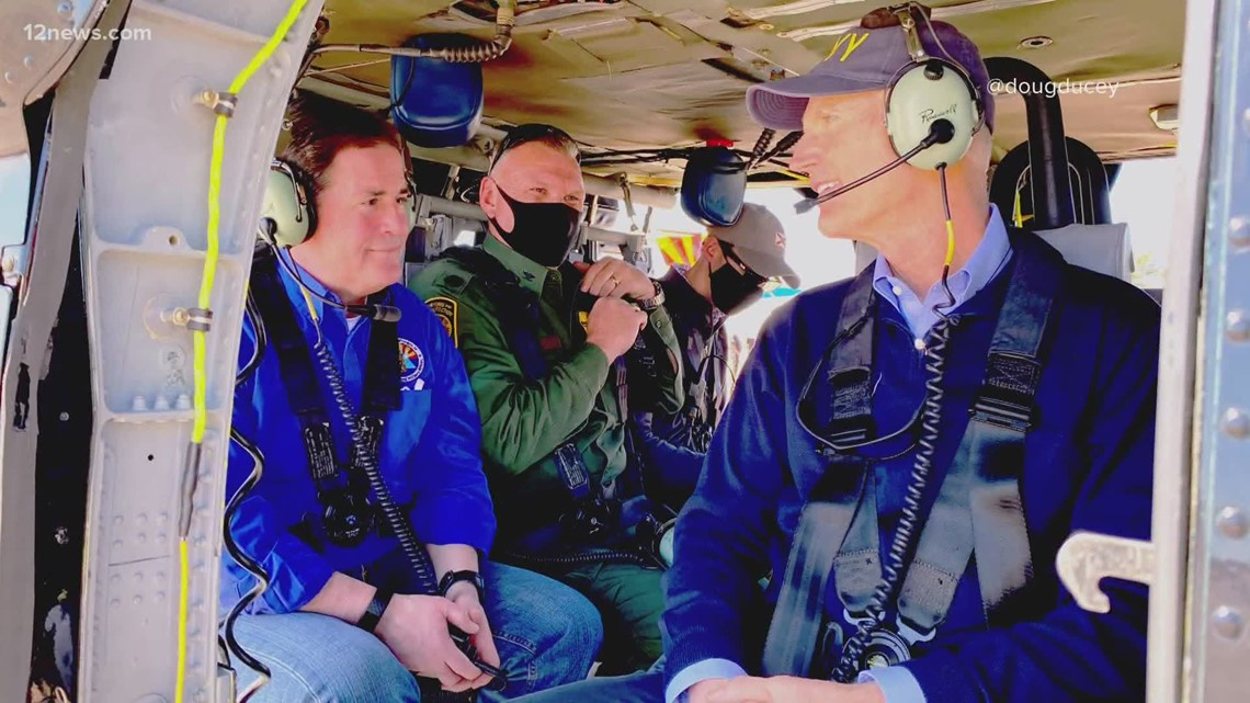 Gov. Doug Ducey to tour Arizona-Mexico border