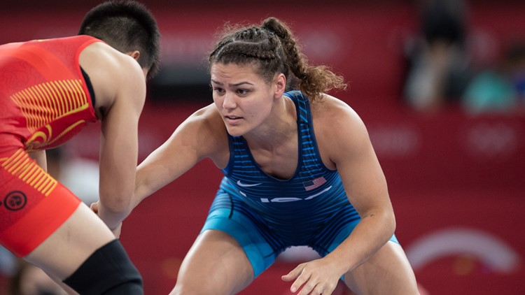 Olympic wrestler with Tempe ties Kayla Miracle out in Tokyo's 1/8 finals