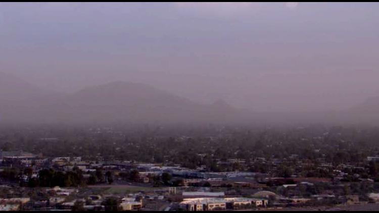 High dust pollution alert issued across Maricopa County