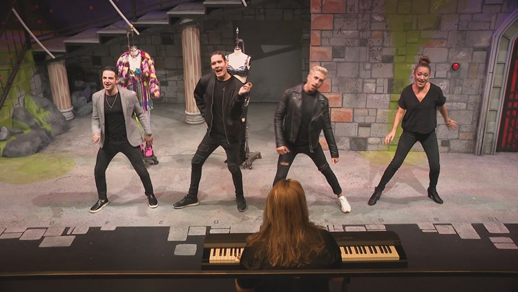 Behind the scenes at the Phoenix Theatre Company