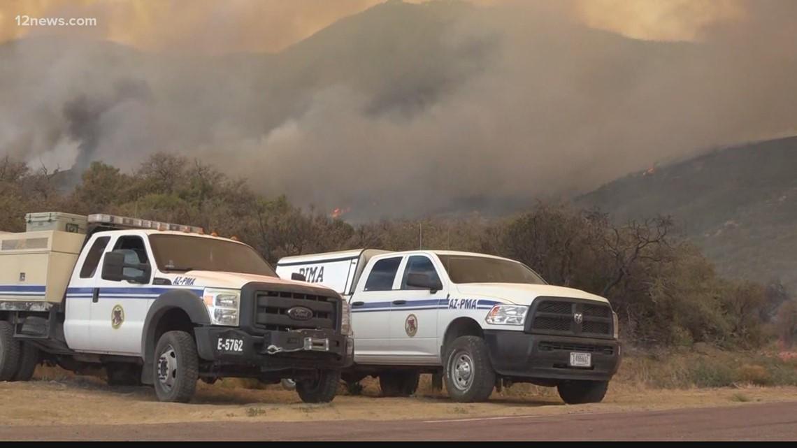 History of wildfires in Arizona