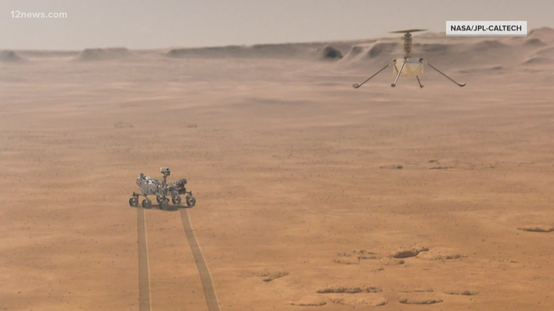 NASA's Ingenuity helicopter scheduled to make first flight ...
