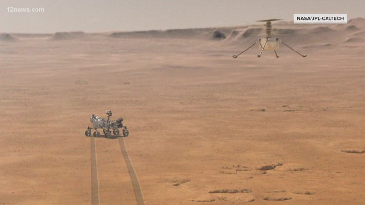 NASA's Ingenuity helicopter scheduled to make first flight on Mars