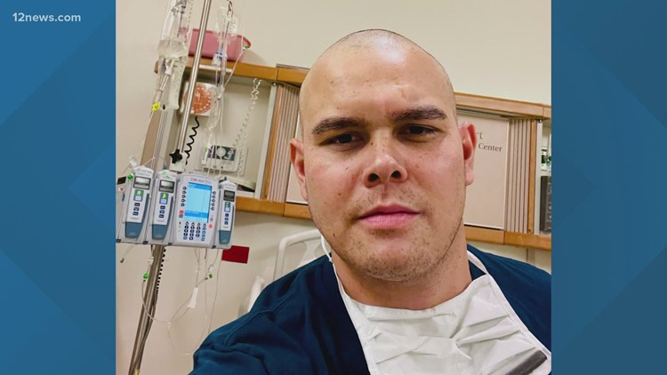 Gilbert police officer asking for help as he battles leukemia