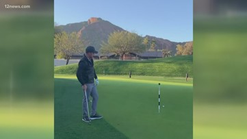 Trick golf shots at home to up your golf game