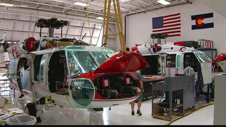 Scorched Earth: Behind-the-scenes look at how fire fighting helicopters come together
