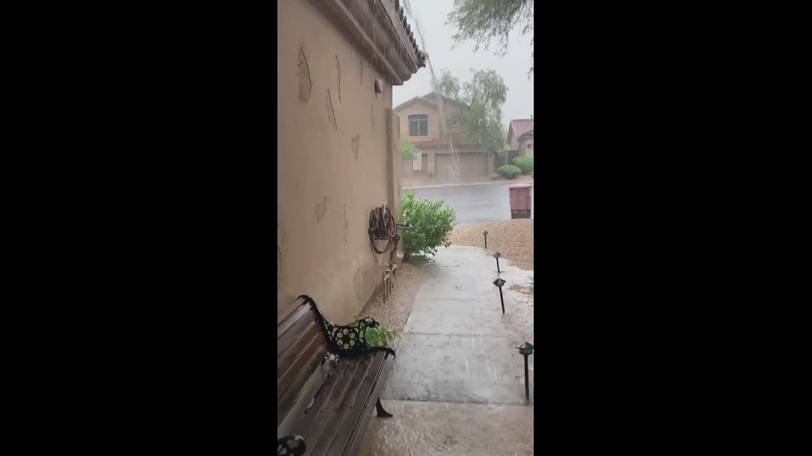 Flash flooding in north Scottsdale!
