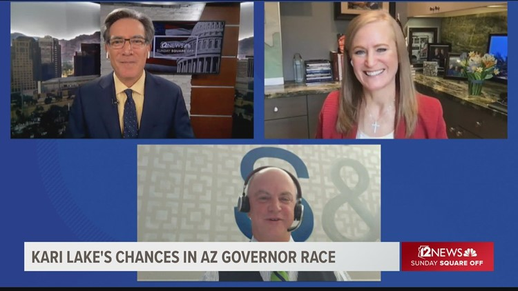 What's Lake's effect in GOP race for governor?
