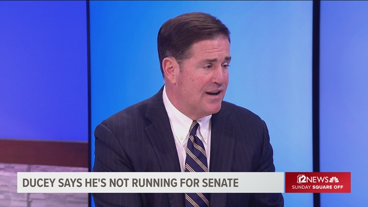 What will Gov. Ducey do in 2024?
