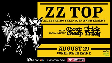 TODAY IN AZ ZZ TOP SWEEPSTAKES