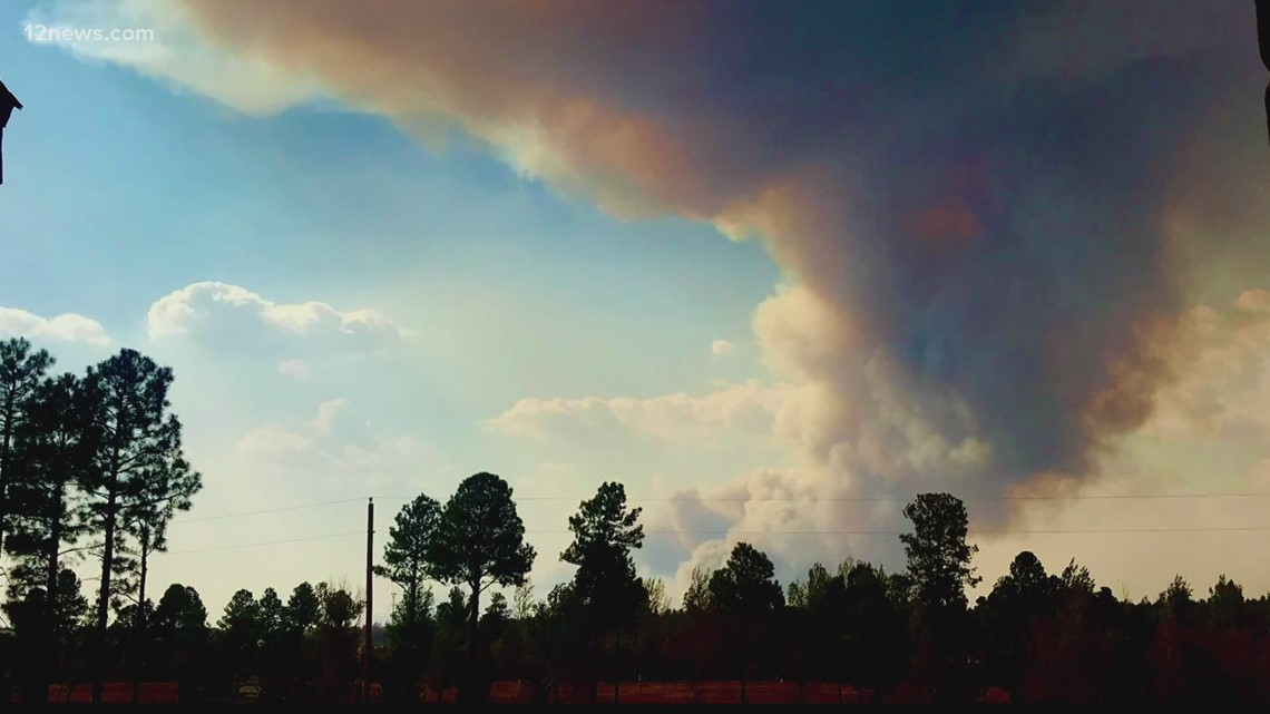 Several wildfires continue to burn across Arizona